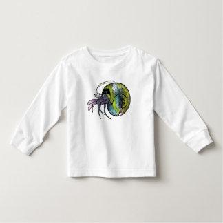 Camiseta De Bebé Cangrejo de ermitaño