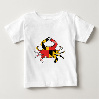 Camiseta De Bebé Cangrejo de Maryland