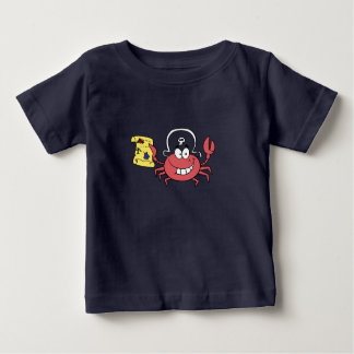 Camiseta De Bebé Cangrejo del pirata