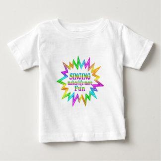 Camiseta De Bebé Canto de más diversión