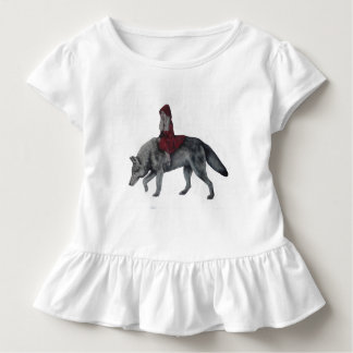 Camiseta De Bebé Capa con capucha roja