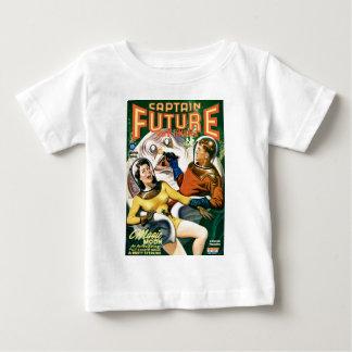 Camiseta De Bebé Capitán Future y la luna mágica