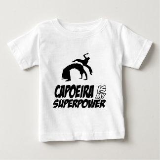 Camiseta De Bebé capoeira mi superpotencia