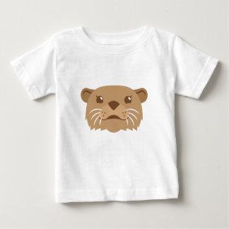 Camiseta De Bebé cara de la nutria