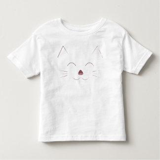 Camiseta De Bebé Cara linda del gato - rosa