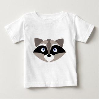 Camiseta De Bebé Cara linda del mapache