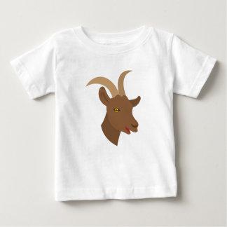 Camiseta De Bebé cara linda masculina de la cabra