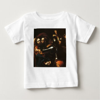 Camiseta De Bebé Caravaggio - el tomar de Cristo - ilustraciones