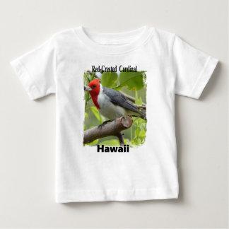 Camiseta De Bebé Cardenal de cresta roja