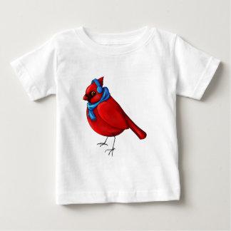 Camiseta De Bebé Cardenal del invierno
