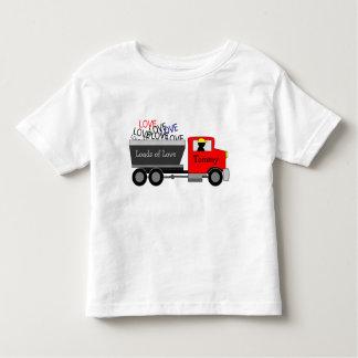 """Camiseta De Bebé """"Cargas camión del amor"""""""
