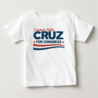 Camiseta De Bebé Carmen Yulin Cruz