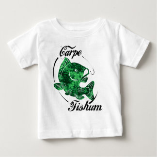 Camiseta De Bebé Carpe Fishum