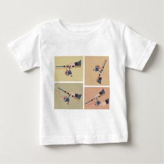 Camiseta De Bebé Carrete de giro de lanzamiento con posiciones de
