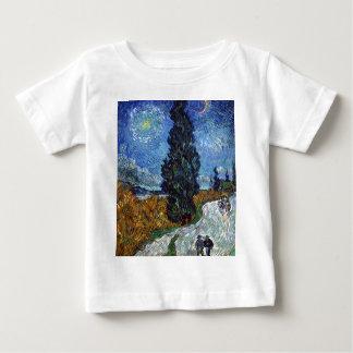 Camiseta De Bebé Carretera nacional de Vincent van Gogh en Provence