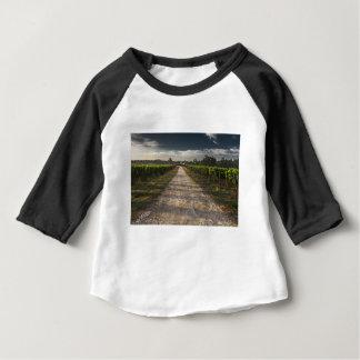 Camiseta De Bebé Carretera nacional oscura