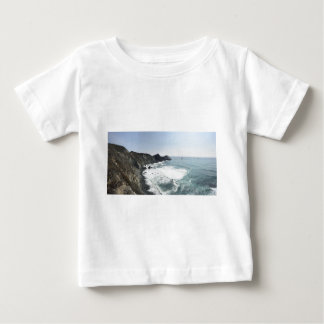 Camiseta De Bebé Carretera Sur grande de la Costa del Pacífico de