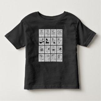 Camiseta De Bebé Carta LOONEY de la emoción del carácter de TUNES™