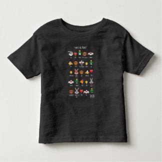 Camiseta De Bebé Carta LOONEY de TUNES™ Emoji