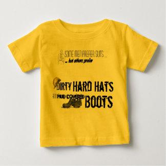 Camiseta De Bebé Casco y botas