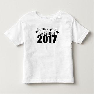 Camiseta De Bebé Casquillos y diplomas (negro) del graduado 2017