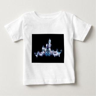 Camiseta De Bebé Castillo congelado - copos de nieve