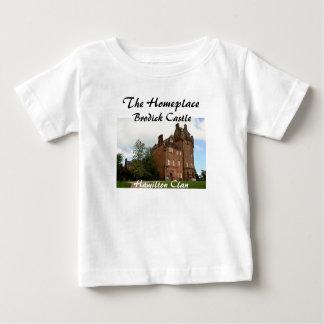 Camiseta De Bebé Castillo de Brodick - clan de Hamilton