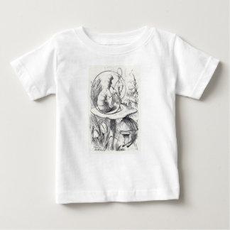 Camiseta De Bebé Caterpiller fuma un ushrooa de la cachimba