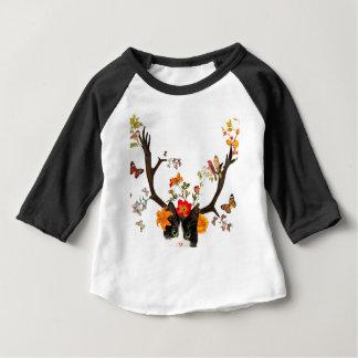 Camiseta De Bebé Cat's Horns