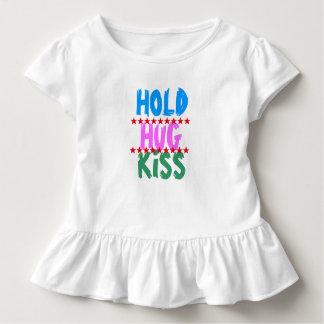 Camiseta De Bebé CELEBRE EL BESO DEL ABRAZO:  Fiesta de los amigos