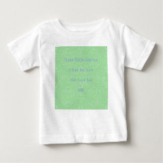Camiseta De Bebé Centelleo del centelleo pocos regalos del bebé de