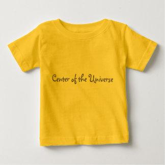 Camiseta De Bebé Centro del universo