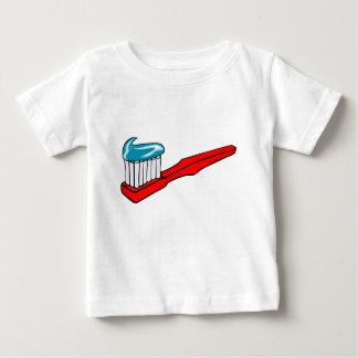 Camiseta De Bebé Cepillo de dientes y crema dental