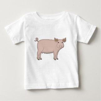 Camiseta De Bebé cerdo