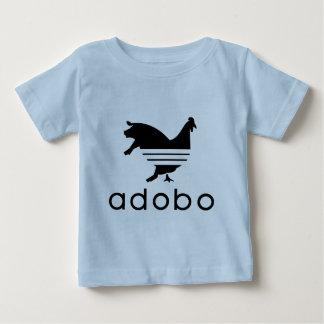 Camiseta De Bebé Cerdo del pollo del Adobo