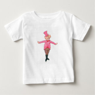 Camiseta De Bebé Cerdo en un sombrero de copa