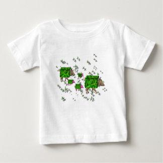 Camiseta De Bebé cerdos del seto de británicos