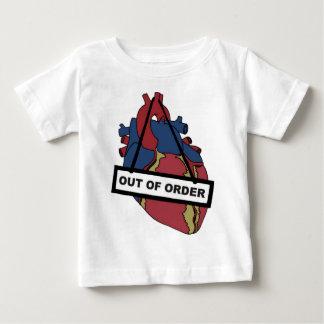 Camiseta De Bebé Cerrado para las reparaciones