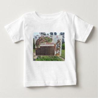 Camiseta De Bebé Cetatea Rasnov, Rumania. Mapa histórico de la