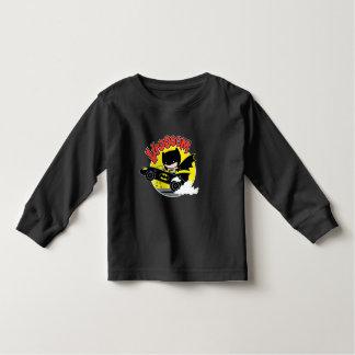 Camiseta De Bebé Chibi Batman en el Batmobile