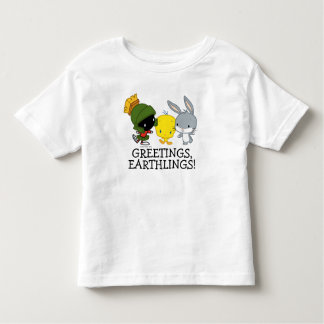 Camiseta De Bebé Chibi MARVIN el ™ de MARTIAN™, de TWEETY™, y de
