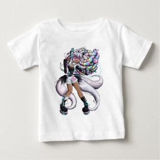 Camiseta De Bebé Chica cibernético de Kitsune
