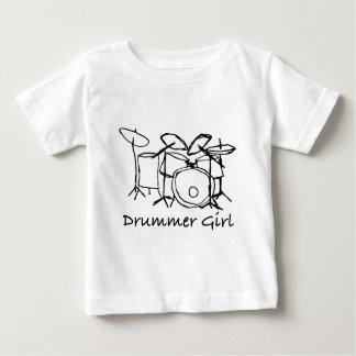 Camiseta De Bebé Chica del batería