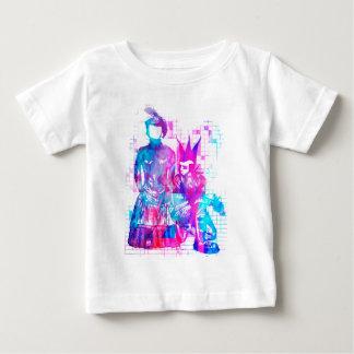 Camiseta De Bebé Chica del gótico del caramelo de algodón y tipo
