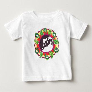 Camiseta De Bebé Chica del zen de la escalada