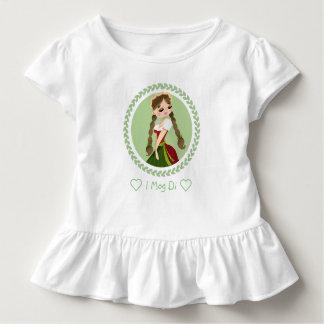 Camiseta De Bebé Chica en Dirndl