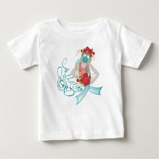 Camiseta De Bebé Chica en Gasmask Allergy2