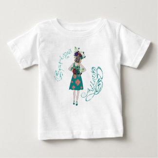 Camiseta De Bebé Chica en la alergia de Gasmask