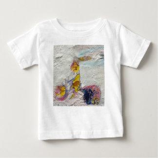 Camiseta De Bebé Chica lindo en ilustraciones originales de la bici