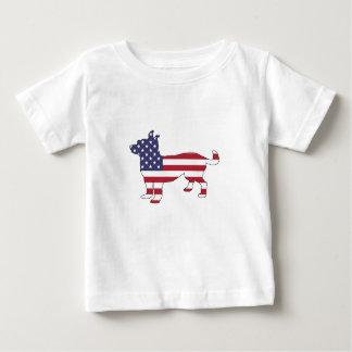 "Camiseta De Bebé Chihuahua ""bandera americana """